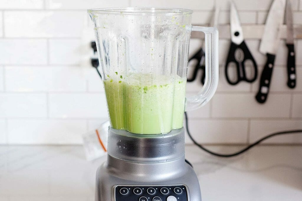 A blender is best used for pureeing foods