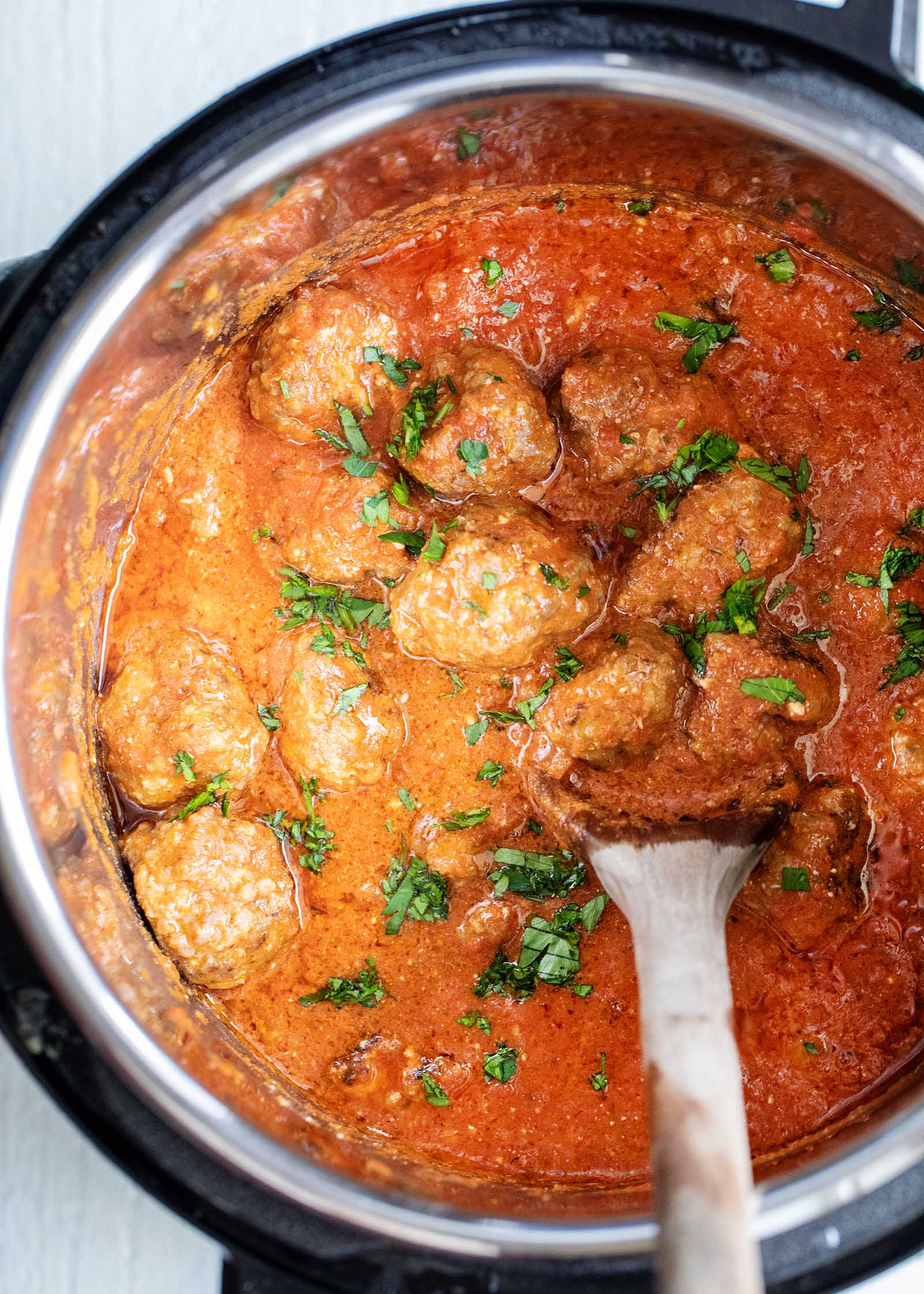 Slow cooker sausage balls for a party