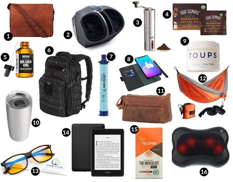 healthy holiday gift guide men