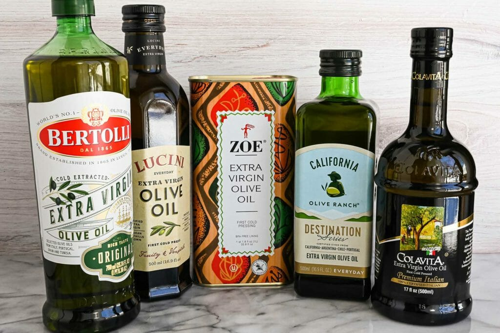 The best olive oil for cooking