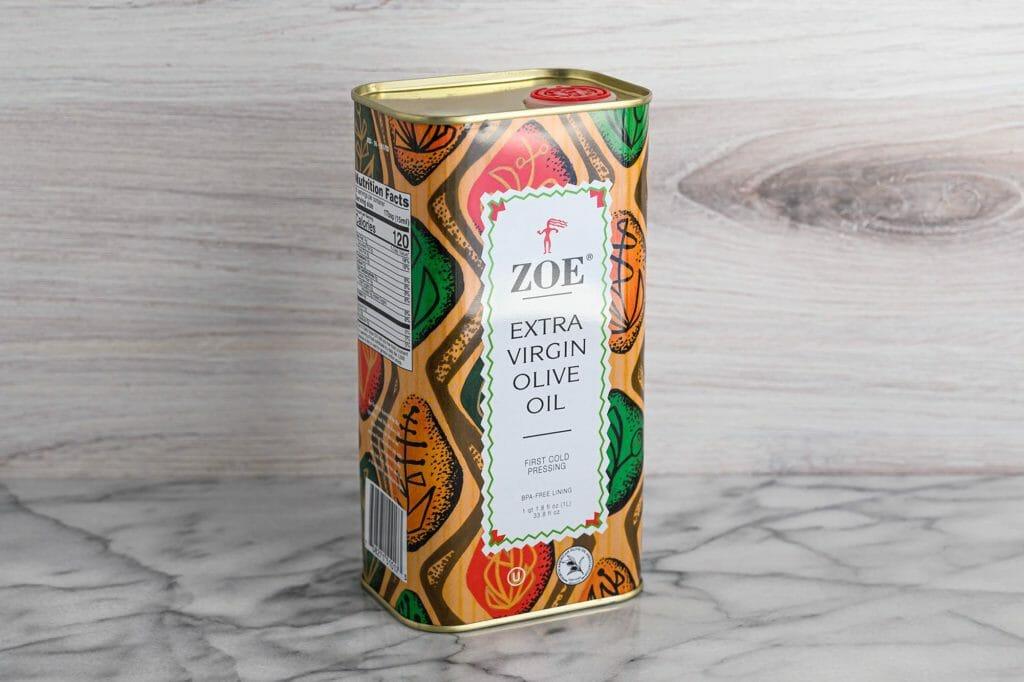 Zoe extra virgin olive oil winner taste test