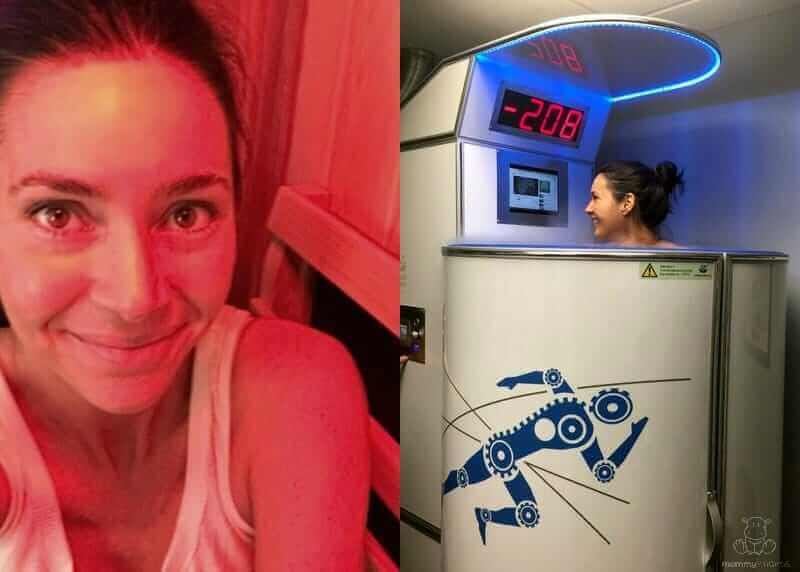 cryo therapy and infrared sauana help to reboot the body's fight or flight response to stress