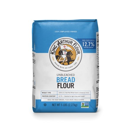 King Arthur Unbleached Bread Flour, 5 lbs