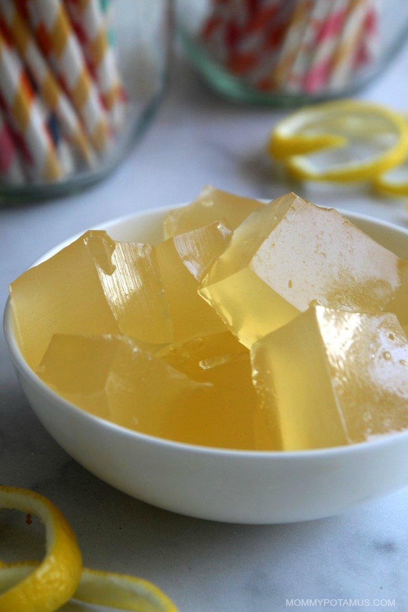homemade lemon jello recipe