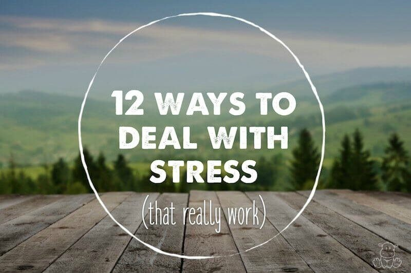 How To Deal With Stress Naturally