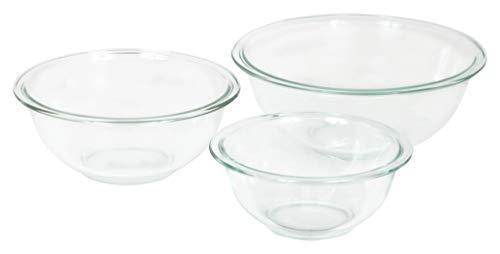 Pyrex 3-piece Glass Mixing Bowls
