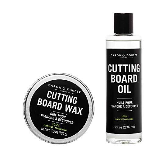 Cutting Board & Butcher Block Conditioning Oil & Wood Finishing Wax| 100% Plant-Based & Vegan