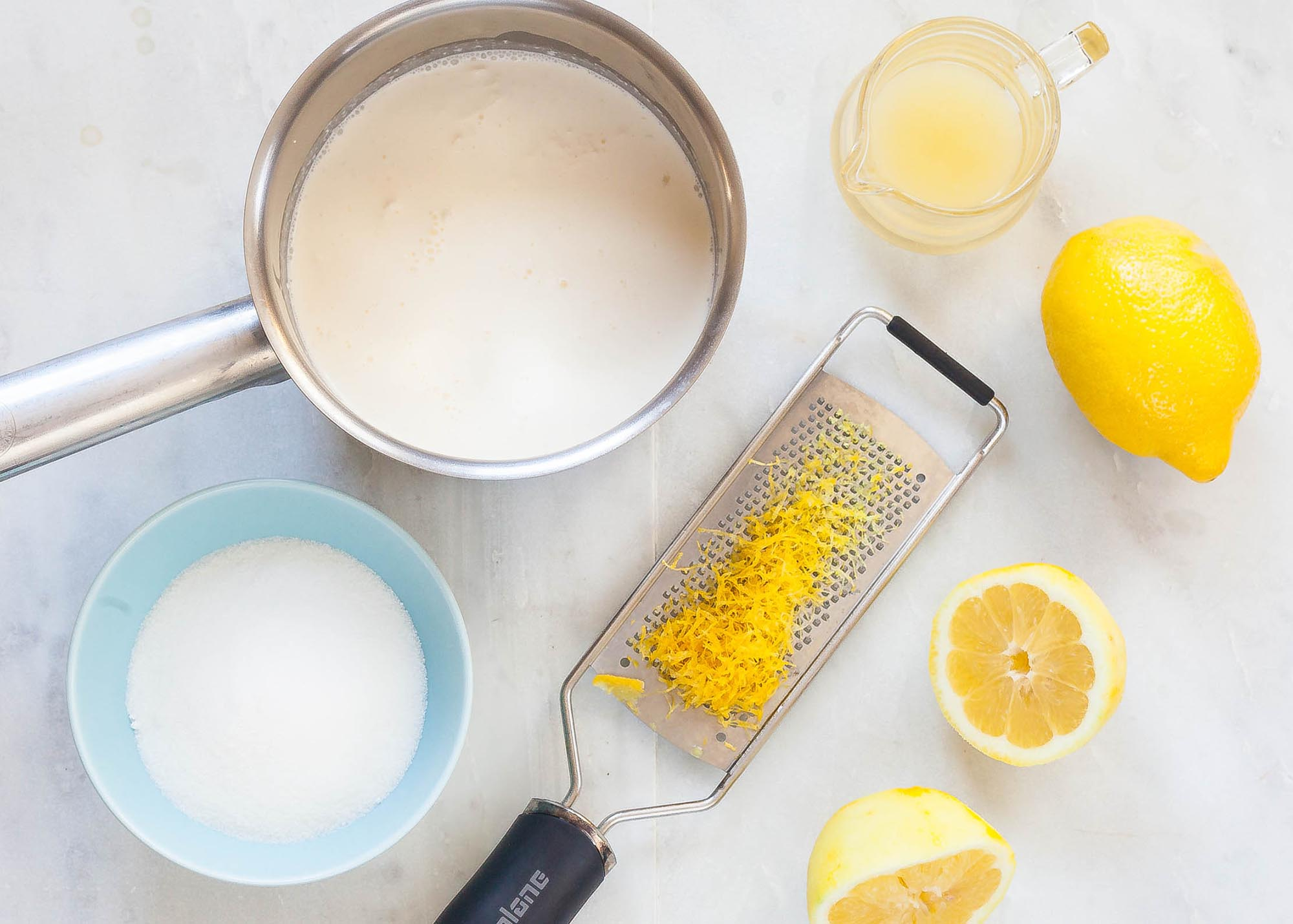 Easy Lemon Pudding