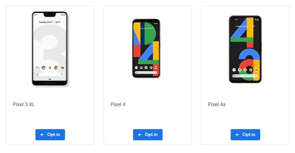 Android 11 Beta, Pixel 4a